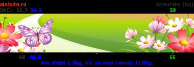 Ticker secundar slabit pentru rosemerta